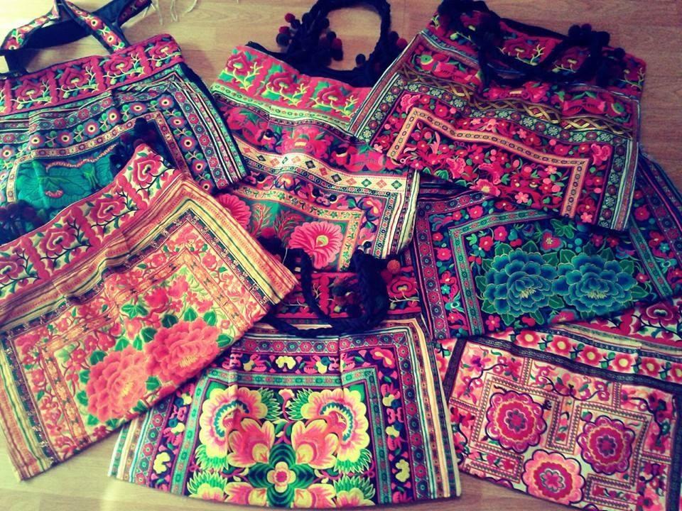 bolsos bordados traidos de tailandia!