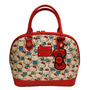 Bolso Loungefly Hello Kitty Vintage Print Patent !
