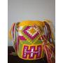 Mochila Wayuu Pequeña Decorada