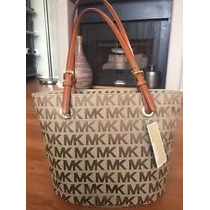 Oferta Michael Kors Mk Bolso Cartera Sale Marrón New York