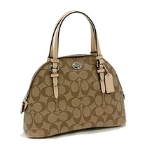 Bolso Coach Peyton Mini Domed Satchel Purse - #f