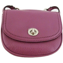 Bolso Cuero Coach Park Mini Crossbody Rose F Svro