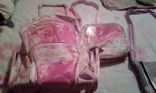 bolsos colegiales con loncheras para niñas y adolescentes