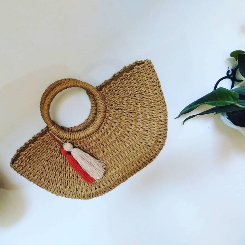 bolsos de mimbre paja bolsos sombreros straw bag verano moda. Cargando zoom. 991b8d58f0c