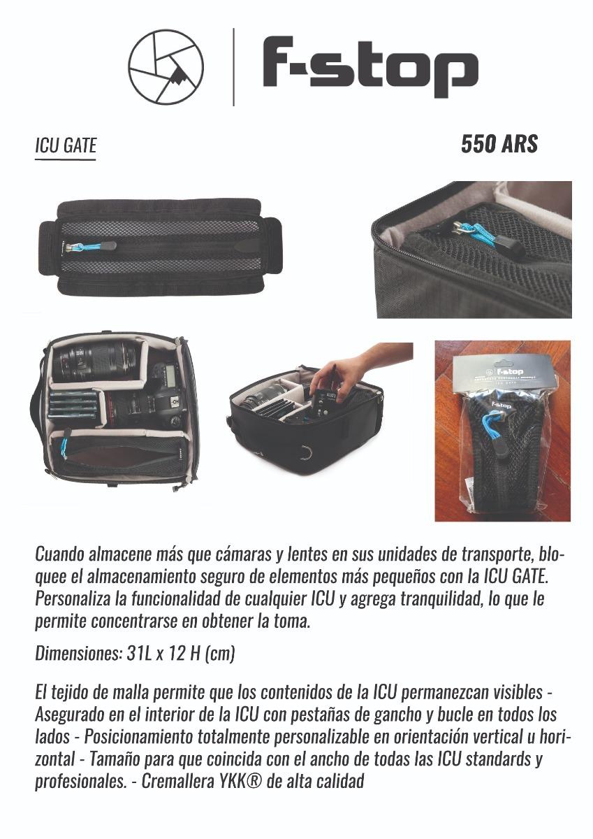 Bolsos Estuches Para Cmaras Y Accesorios Varios Modelos 550 F Stop Icu Gate Cargando Zoom
