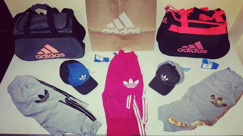 bolsos, gorras & calentadores adidas originals nuevos!!