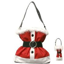 Bolso Santa Claus Juego De La Navidad Del Bolso Con La Coin