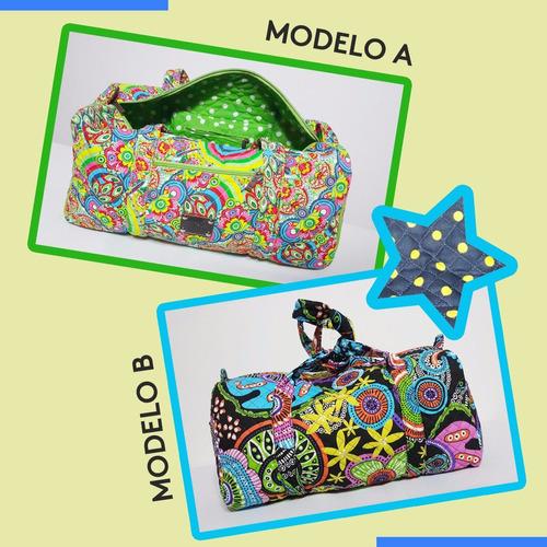bolsos maternales de mano estampados mandalas bulgaro telase