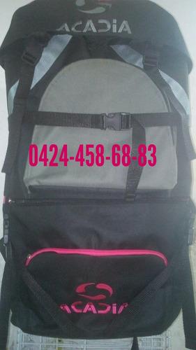 bolsos mochilero acadia