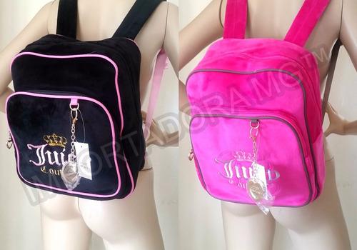 bolsos morrales backpack para dama juicy couture.