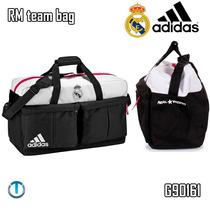 Bolso Adidas Viajero Futbol Real Madrid Original