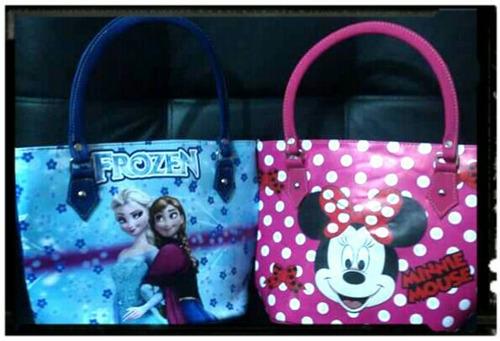 bolsos para niñas soy luna y  con tus personajes favoritos