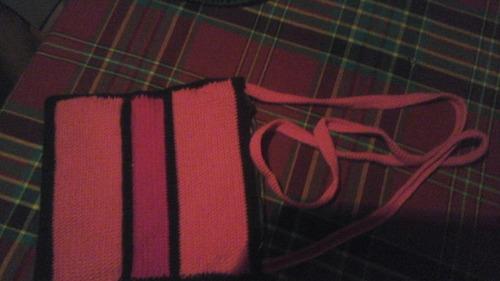 bolsos tejidos a mano