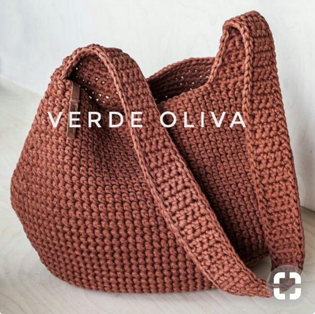 Bolsos Tejidos Crochet Hilo De Algodón 80000 En Mercado Libre