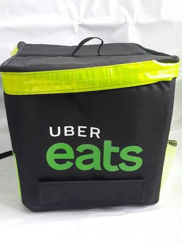 bolsos térmicos e impermeables para uber eats.