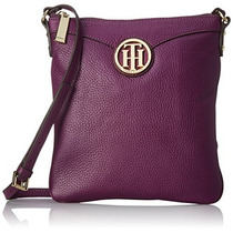 Bolso Tommy Hilfiger Maggie Pebble Plana Convertible Cross