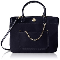 Bolso Tommy Hilfiger Lexi 2 Top-handle Bag Negro