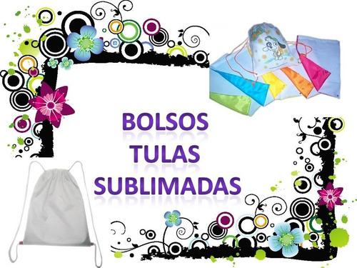 bolsos tula sublimados