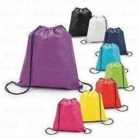 bolsos tula tela pop ecológica 25x30 (somos fabricantes)