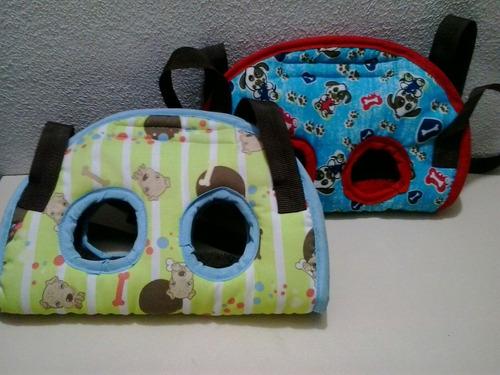 bolsos y pecheras para  mascotas perros o gatos