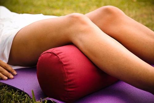 bolster para yoga x 2 unidades envio gratis