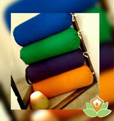 bolster yoga iyengar 50x20cm directo de fabrica almohadón