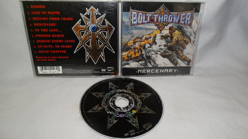 bolt thrower ~ mercenary ( metal blade '98)