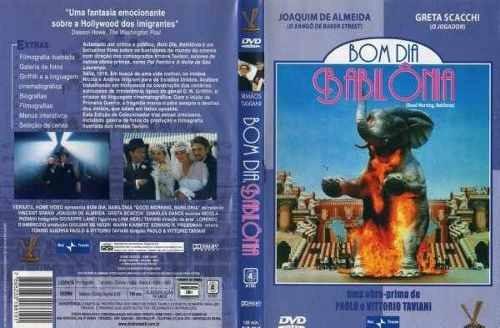 bom dia babilônia (filme dvd original)