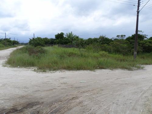 bom terreno de chácara em itanhaém, litoral - ref 2763