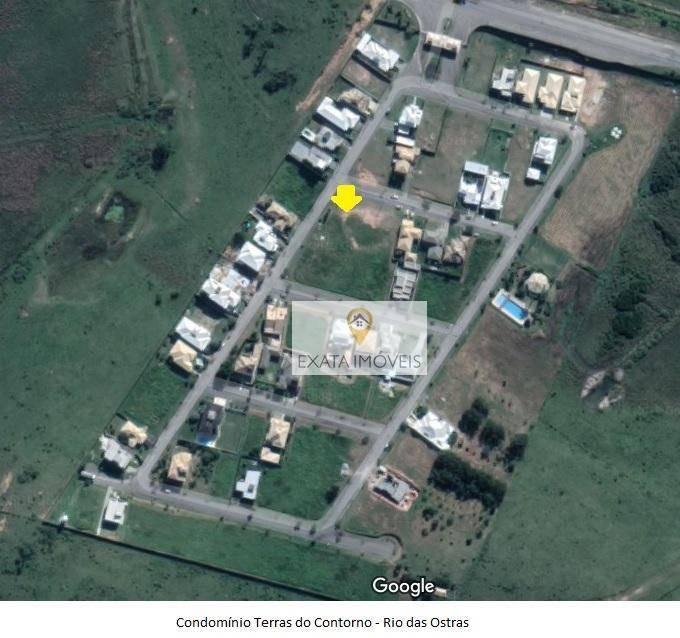 bom terreno de esquina, condomínio fechado com total infraestrutura, rio das ostras! - te0111