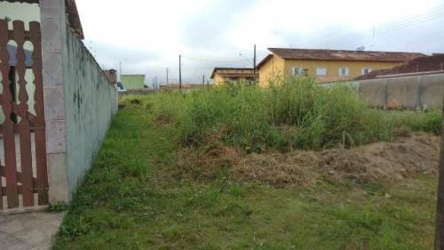 bom terreno de esquina no cibratel, em itanhaém - ref 4626