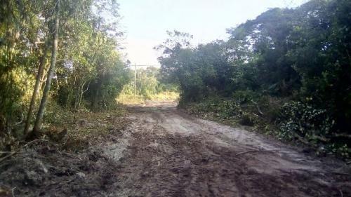 bom terreno escriturado em itanhaém-sp, lado praia!!! 250 m²