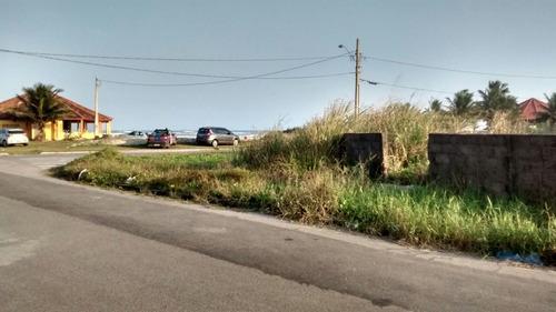 bom terreno no bairro bopiranga, em itanhaém - ref 3236