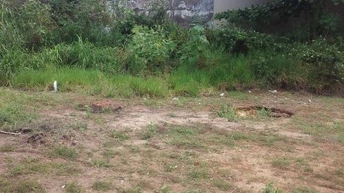bom terreno no bairro cesp, em itanhaém, litoral - ref 3650