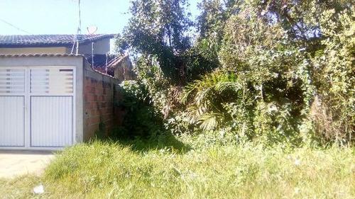 bom terreno no balneário gaivota, em itanhaém - ref 4575