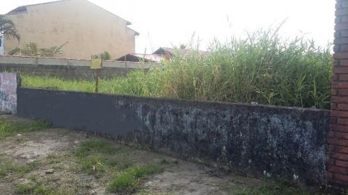 bom terreno no cibratel 2, em itanhaém - ref 3856