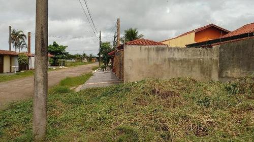 bom terreno no cibratel ii, em itanhaém, litoral - ref 4557