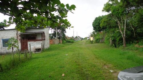 bom terreno no jardim palmeiras 2, em itanhaém - ref 2601