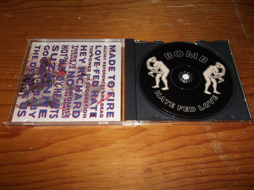 bomb - hate fed love cd importado ed 1992 mdisk