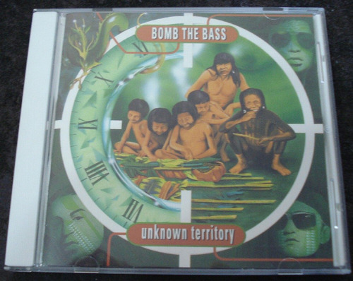 bomb the bass - cd - unknown territory - edição japonesa !!