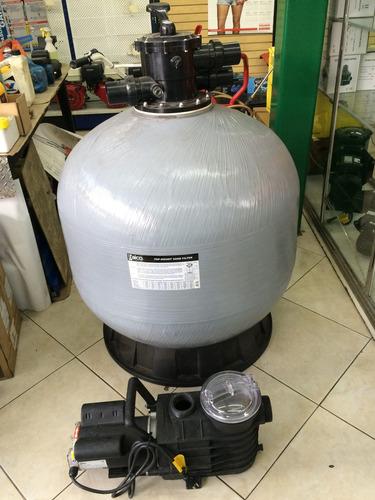 Bomba 2 hp y filtro 36 pulg piscinas baico fab espa ola bs en mercado libre - Precio bomba piscina ...