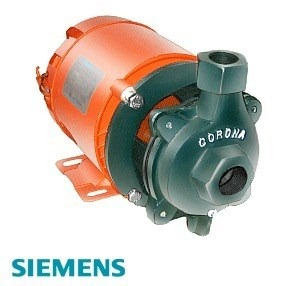 Bomba 5 hp 3x3 centrifuga con caracol 12 en for Bomba de agua siemens