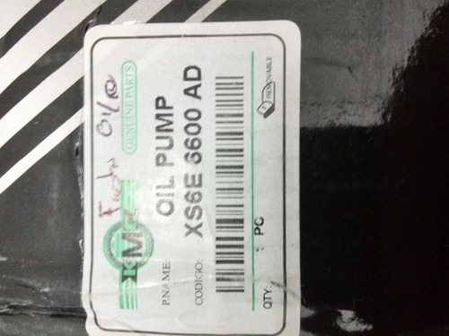 bomba aceite fiesta ka ecosport 1.6 kmc xs6e-6600-ad rt