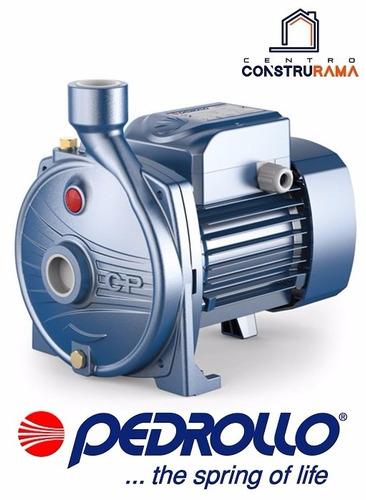 bomba agua 1 hp pedrollo italiana centrifuga 1año d garantía
