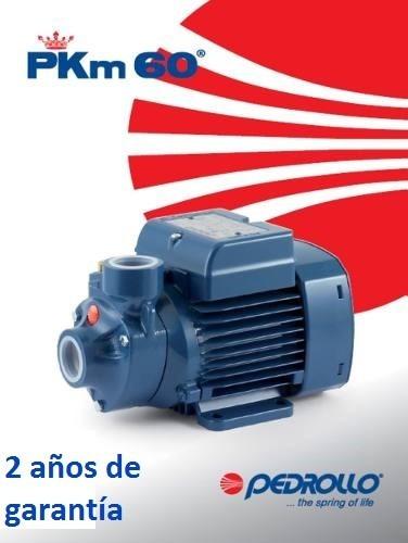 bomba agua 1/2 hp pedrollo italiana 1 año garantía 110v