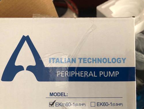 bomba agua 1/2 media y de 1 hp italiana 18 meses garantía