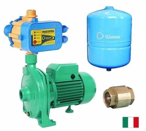 bomba agua 1hp casa pozo + automatico + hidrosfera + valvula