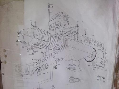 bomba agua 320040 scania dsi-11 m01 40m20