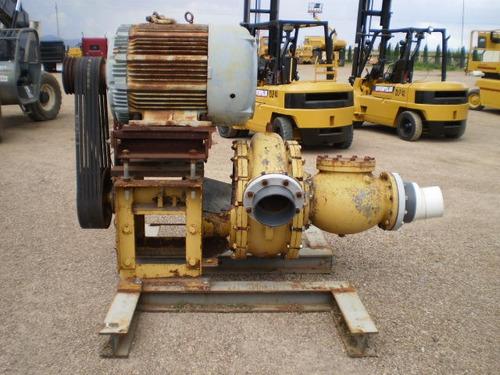 bomba agua centrifuga 8 pulgadas motor electrico 150hp f2235