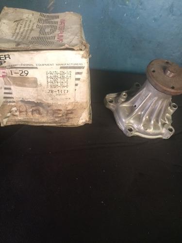 bomba agua chevrolet luv 2.6 / isuzu caribe 2.6 1992 al 1999